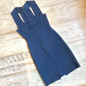Dresses & Skirts - Navy Racer Back Bandage Dress
